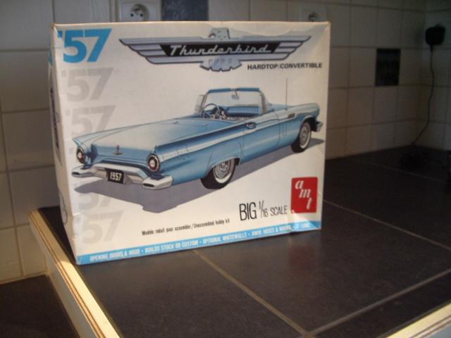 ford thunderbird 1955 au 1/16 de chez amt  395855001
