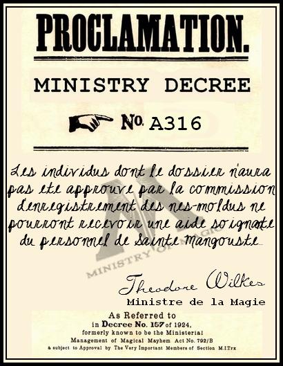 Décrets du ministère de la Magie 396323DECRET8