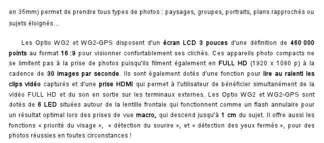 Fil dédié au Pentax WG2 et WG2 GPS 396405Pressepapiers3