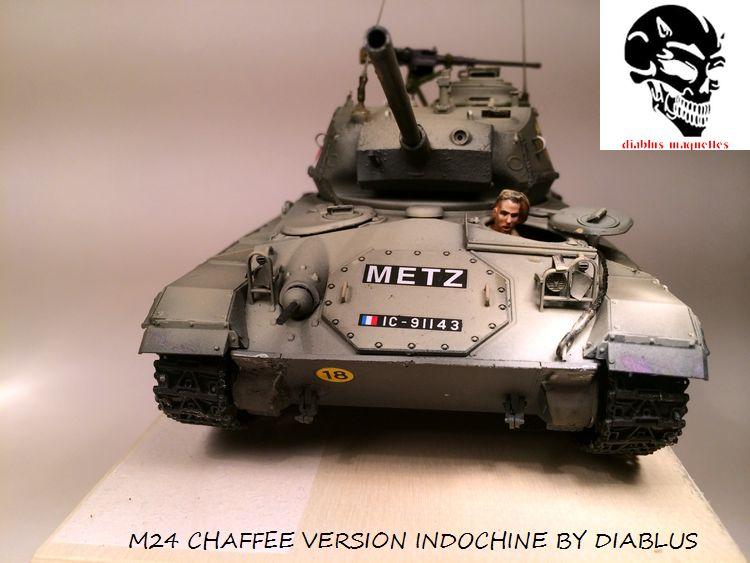M24 Chaffee light tank, AFV Club 1/35 396555IMG35971