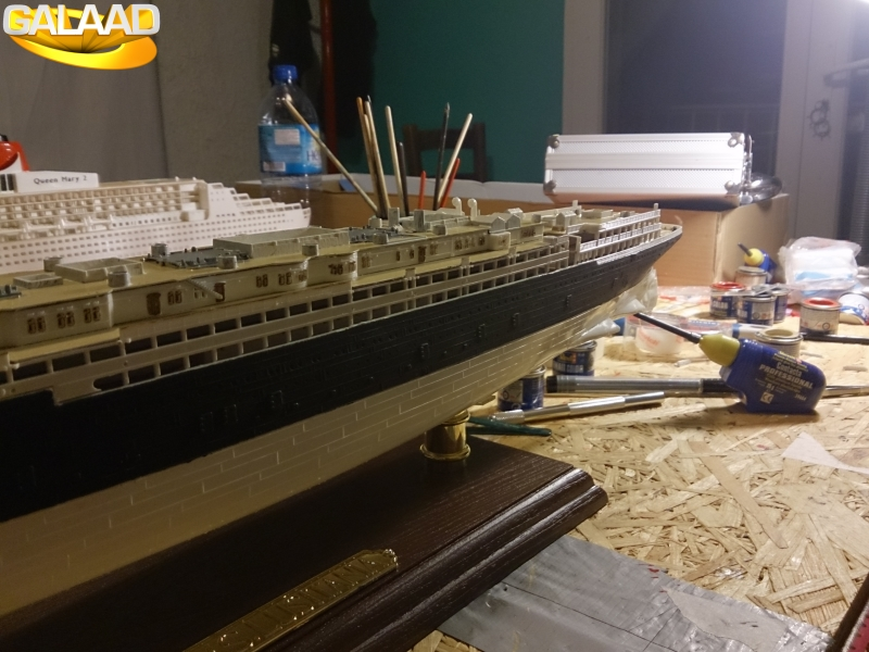 R.M.S Lusitania (Cunard)    1/350 de chez Mr HOBBY 3971465641