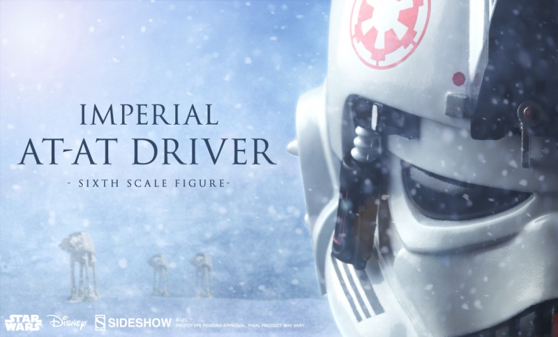 STAR WARS EPISODE V : IMPERIAL AT-AT DRIVER 3979081125x682previewbanner100124ATATDriver