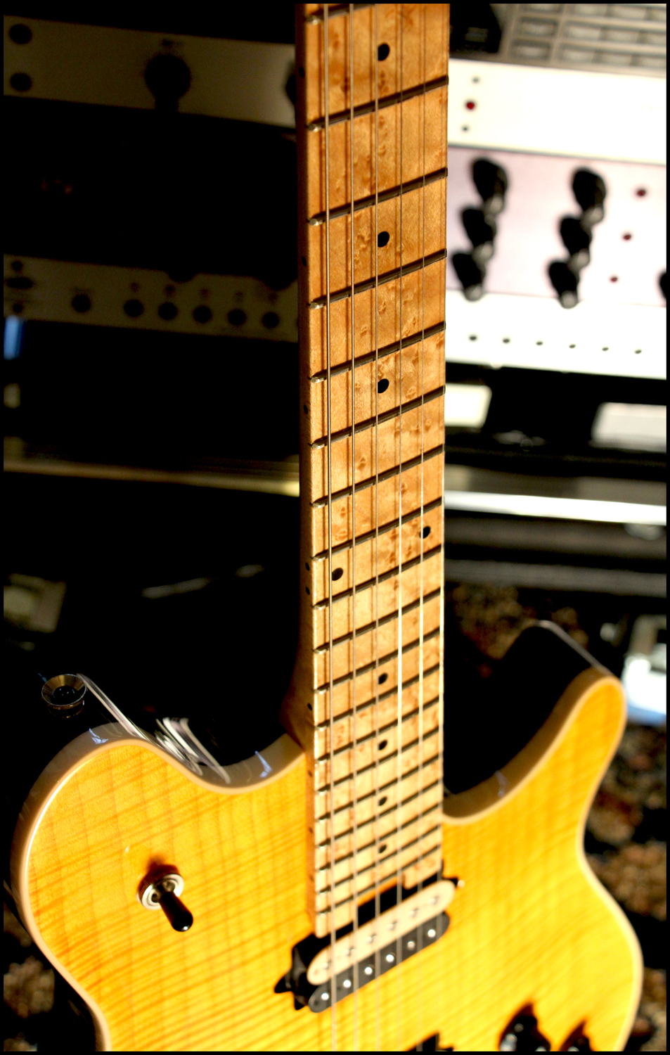 """Peavey Wolfgang Archtop Amber """"Tiger"""" 39884553p7"""