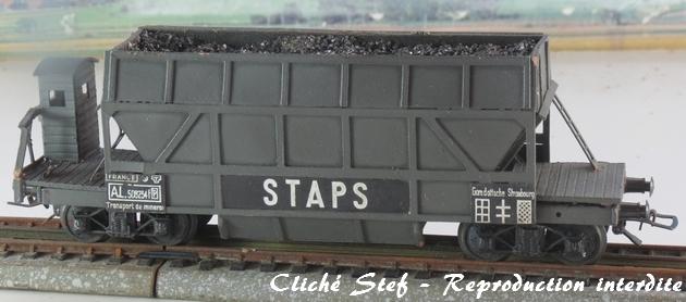 Wagons trémie à bogies maquette 399511VBtrmiebogiesStapsgrischargeIMGIMG4403R
