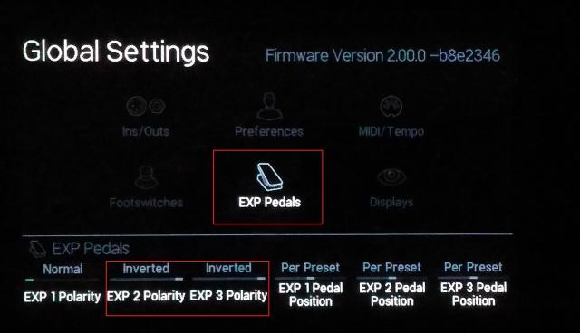Aide pour le paramètrage de pédale d'expression externe type Roland EV5 400164P20160709192140