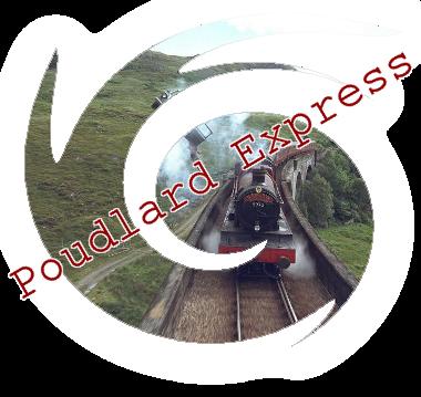 Poudlard Express & voix 9 3/4 400391express