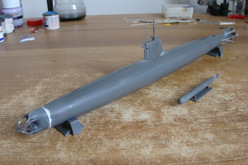 Ko-Hyoteki / Sous-marin de poche Type A - Fine Molds - 1/72ème 401645DSC03967bis