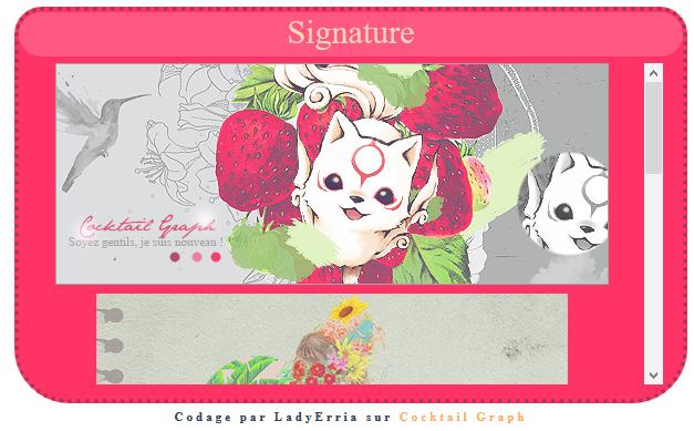 Sommaire visuel des signatures  403471Screenshot4
