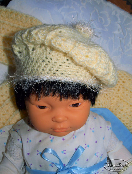 Créations pour bébés au crochet 404342casquette