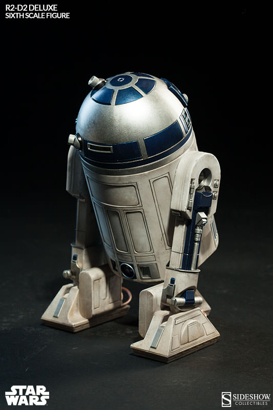 Sideshow - R2-D2 Deluxe Sixth Squale Figure 4047032172r2d2deluxe004