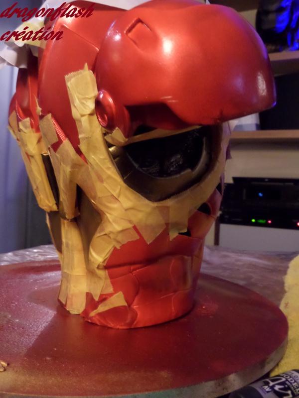 dragonflash création : buste iron man 1/2  (+-40 cm de haut) le final 4060647323