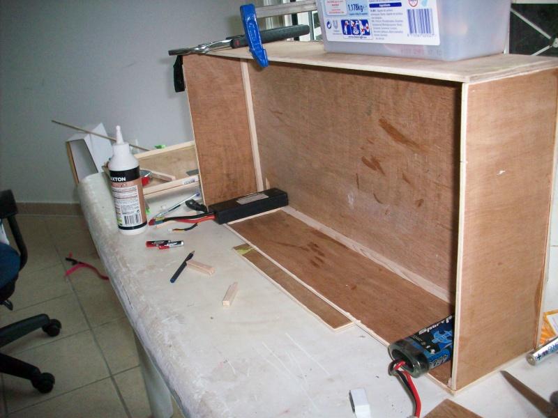 fabrication d'une caisse de transport pour le scania 4071101008847