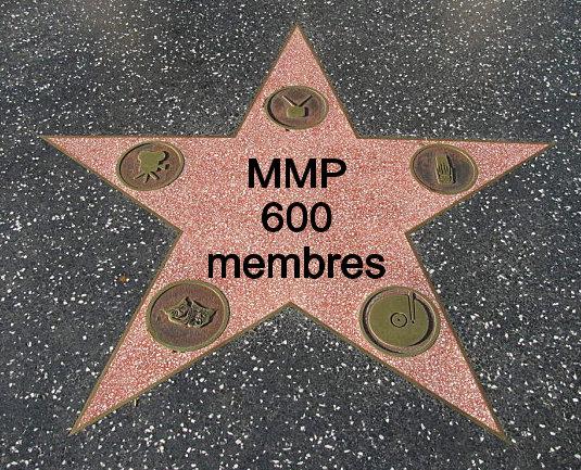 MMP a dépassé les 600 membres! 408451600membres