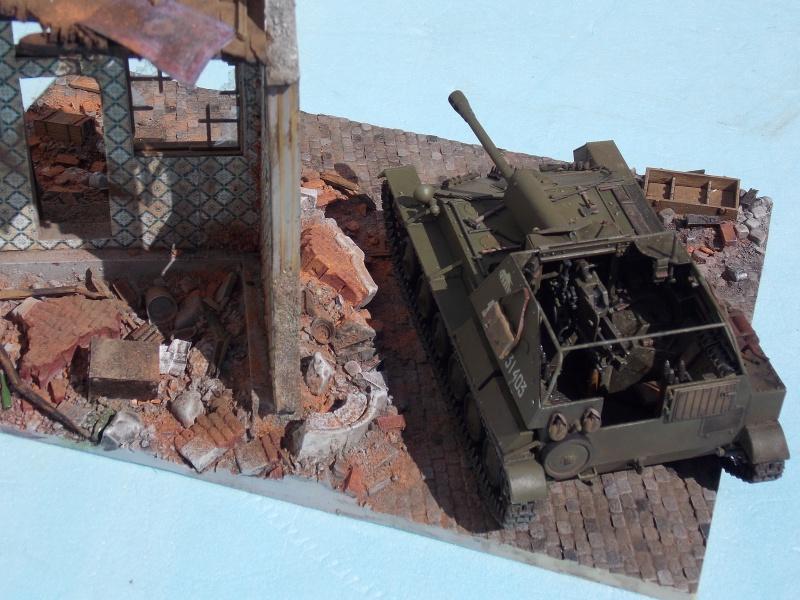 SU 76 M Tamiya et ruine Verlinden 1/35 - Page 5 408567DSCN4399