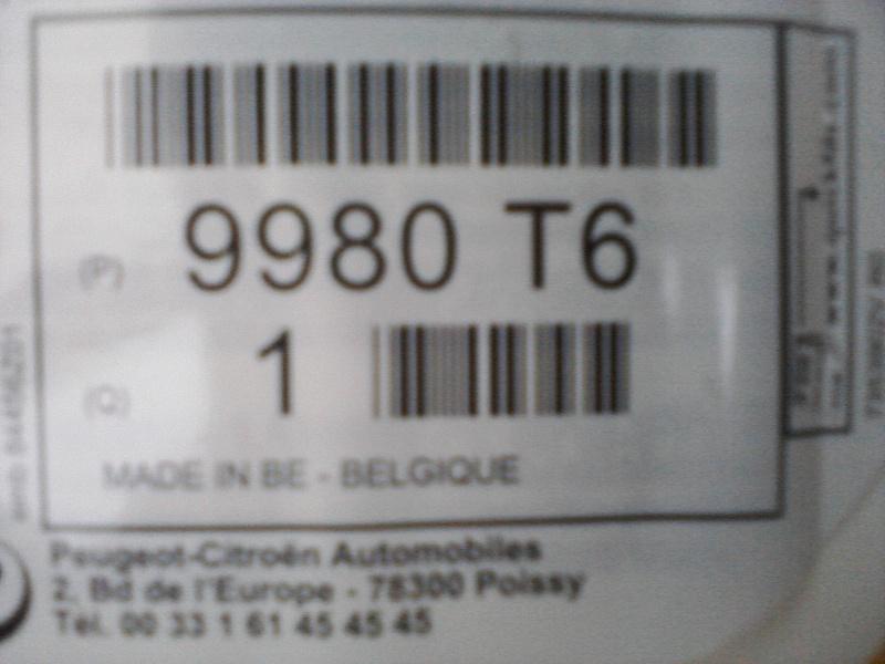 206 RC bleu récif 409041produit2
