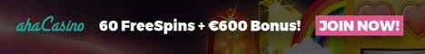 Aha Casino 10 Free Spins No Deposit Bonus €600 Bonus + 60 Free Spins 409213AhaCasino468EN