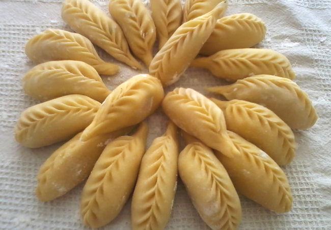 "Recette Sarde"" Is Culurgione"" Raviolis de Patates 410338mmm"
