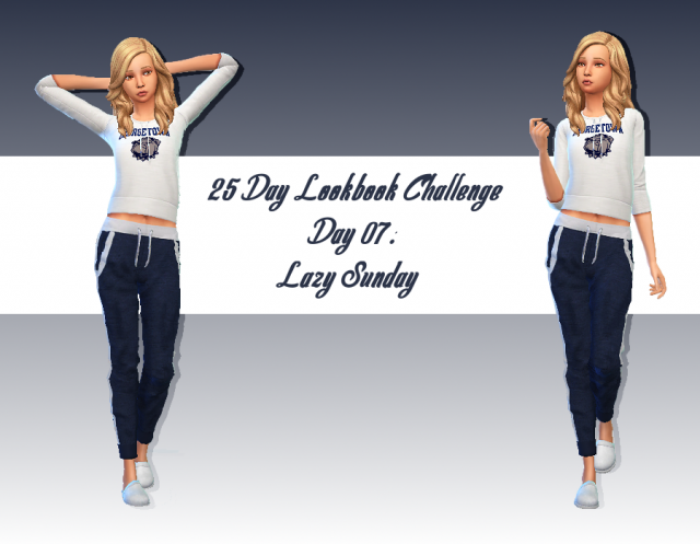 [Look] 25 Day Lookbook Challenge  412118Jour7