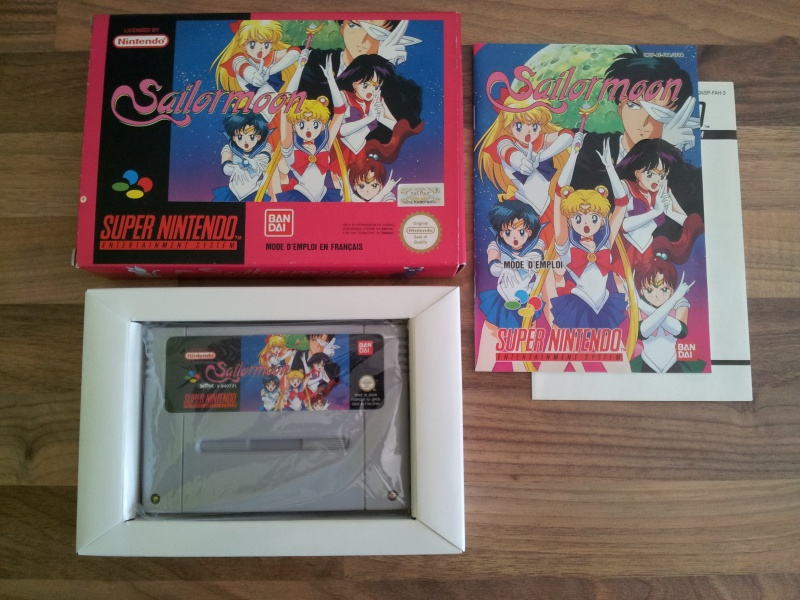 Prupru's Collection ! 100% Super Nintendo et 200% Super Comboy !! - Page 16 412487Sailormoon
