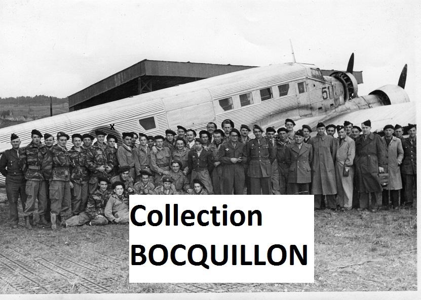 """Sous-lieutenant Yves ALLEMANE Promotion """"AMILAKVARI"""" 18è RCP AFN 4126343PMPMai1952recto"""