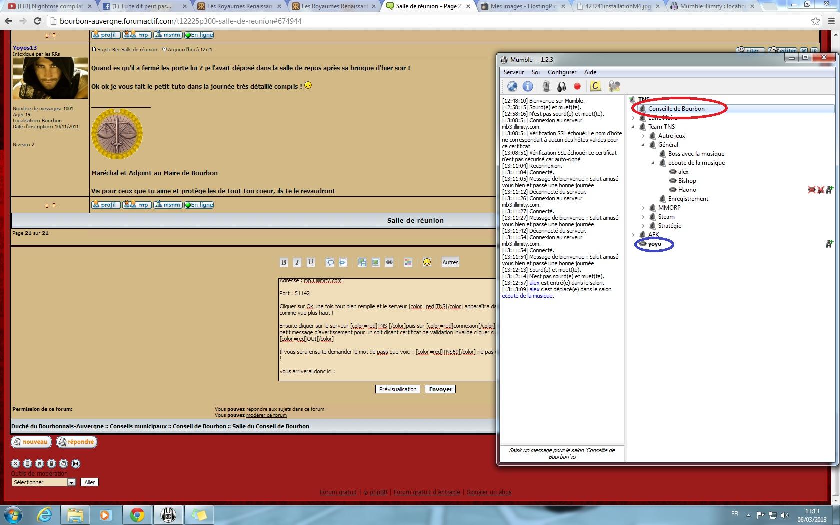 Installer et configurer mumble 413309installationM6