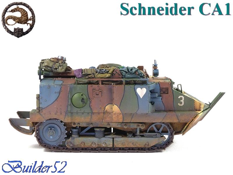 CHAR SCHNEIDER CA 1 - HOBBY BOSS 1/35 414293P1050074