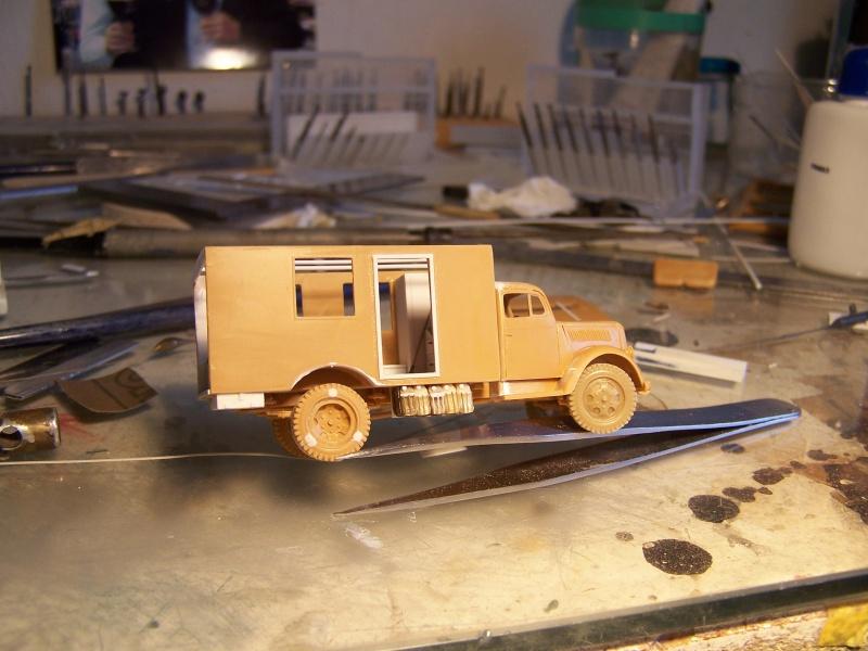 Opel Blitz Ambulance Normandie été 1944 4144661005851
