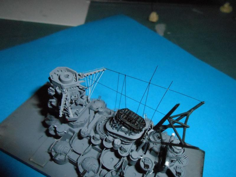 Yamato 1/700 fuji, PE,Pont en bois et babioles - Page 3 416729DSCN5450