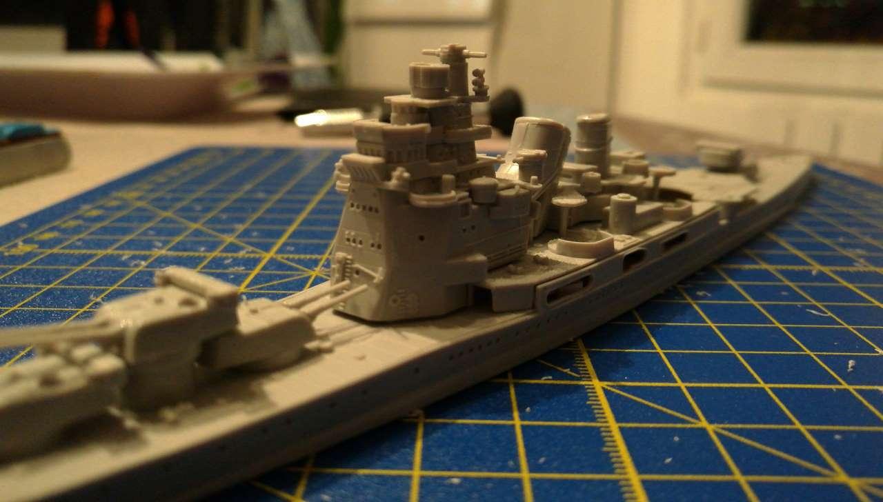 Croiseur TAKAO 1944 1/700 Pit-Road 417161Takao20