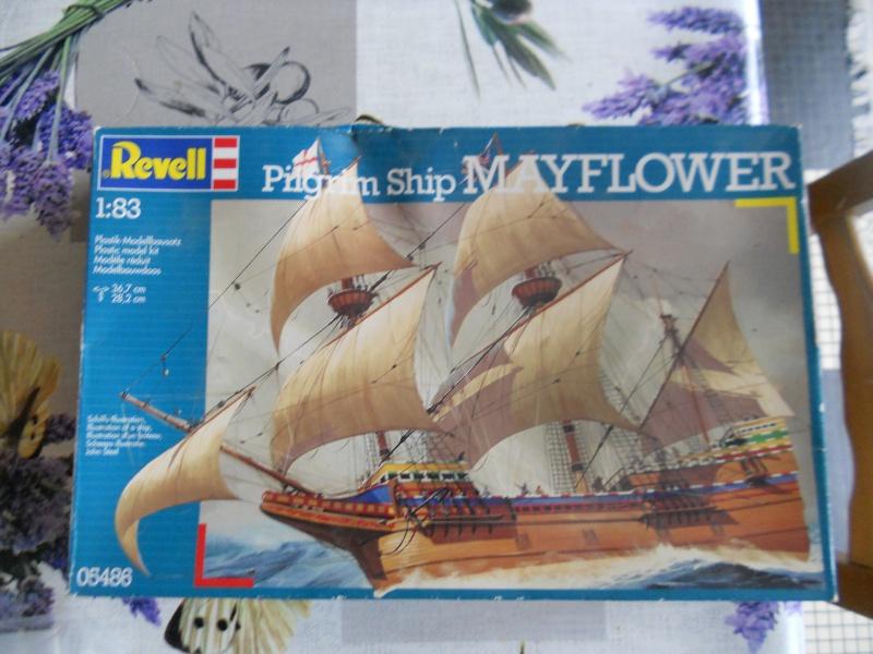 Pilgrim Ship MAYFLOWER Kit Revell au 1:83° 418435DSCN9538