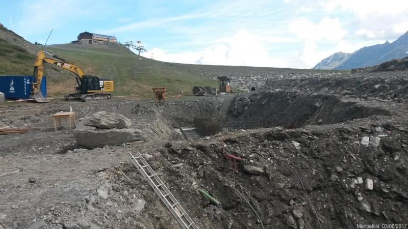 Construction du télésiège débrayable 6 places (TSD6) Roc de Tougne 41918420170603105056
