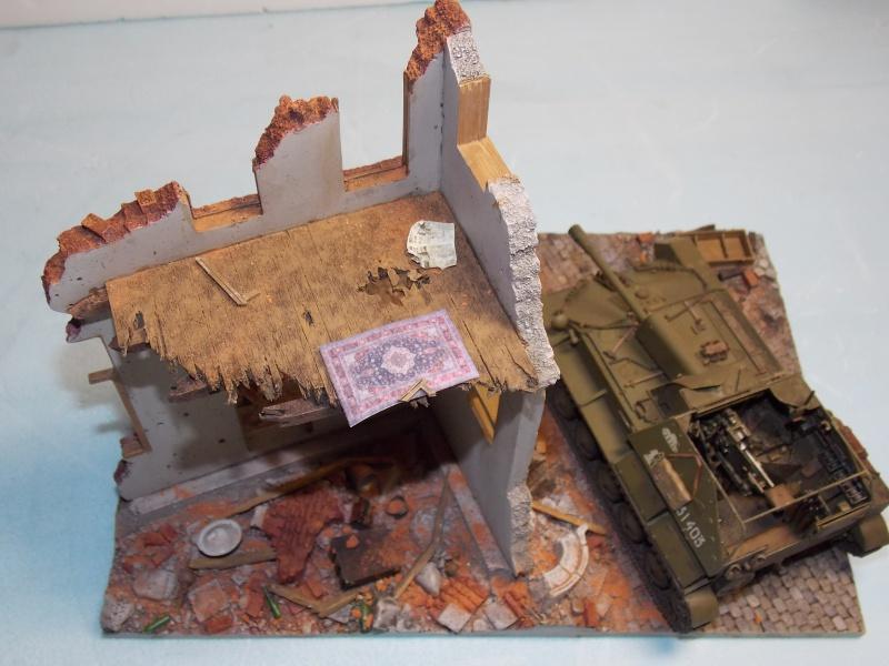 SU 76 M Tamiya et ruine Verlinden 1/35 - Page 5 419636DSCN4393