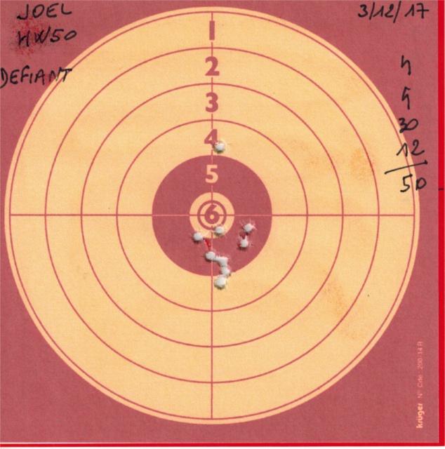 weihrauch - Tests plombs avec carabine Weihrauch HW50S 419931HW50DEFIANT