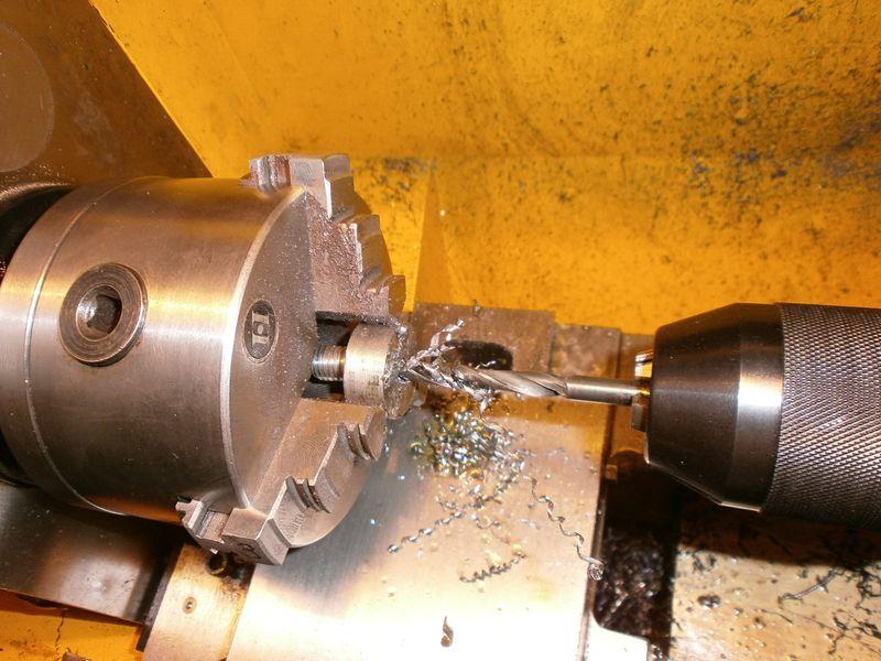"""Fabrication d'un """"bouchon"""" pour mon bac à copeaux pour récupérer le fuide de coupe 420220PB100034"""