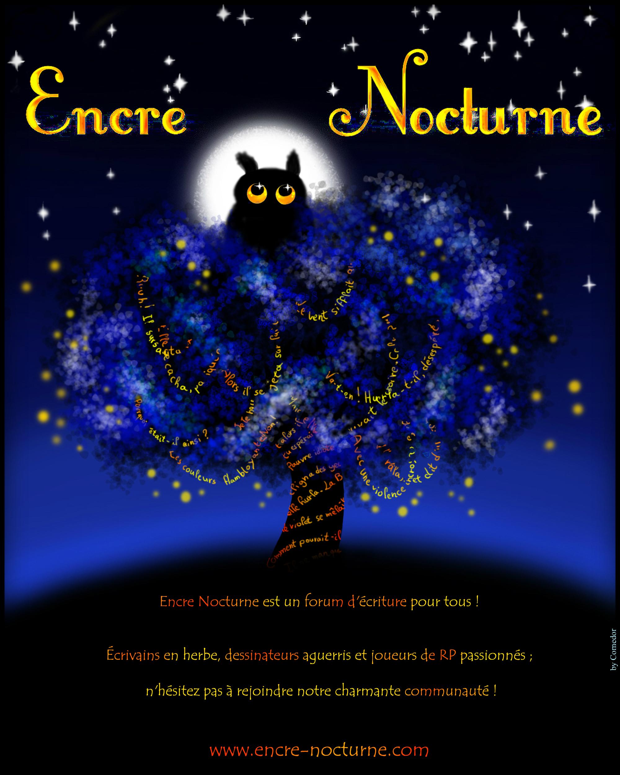 Des affiches Encre Nocturne ! 420283afficheENultimetexte
