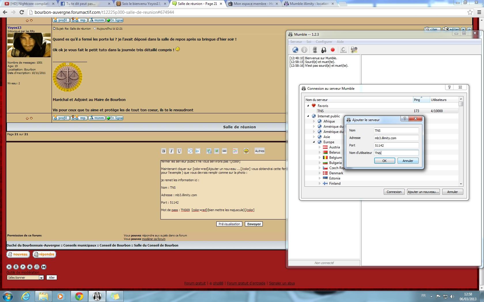 Installer et configurer mumble 423241installationM4