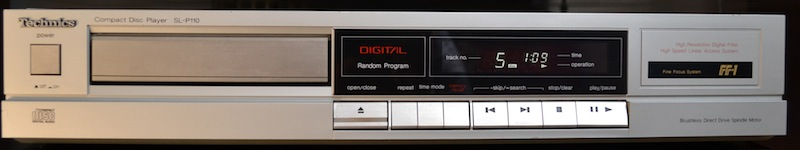 Compact Disc Player Technics SL P110 423259DSC0004