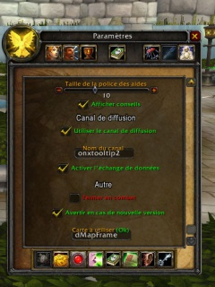 Guide sur l'addon TotalRoleplay: TRP 2 & 3 423993Paramtres