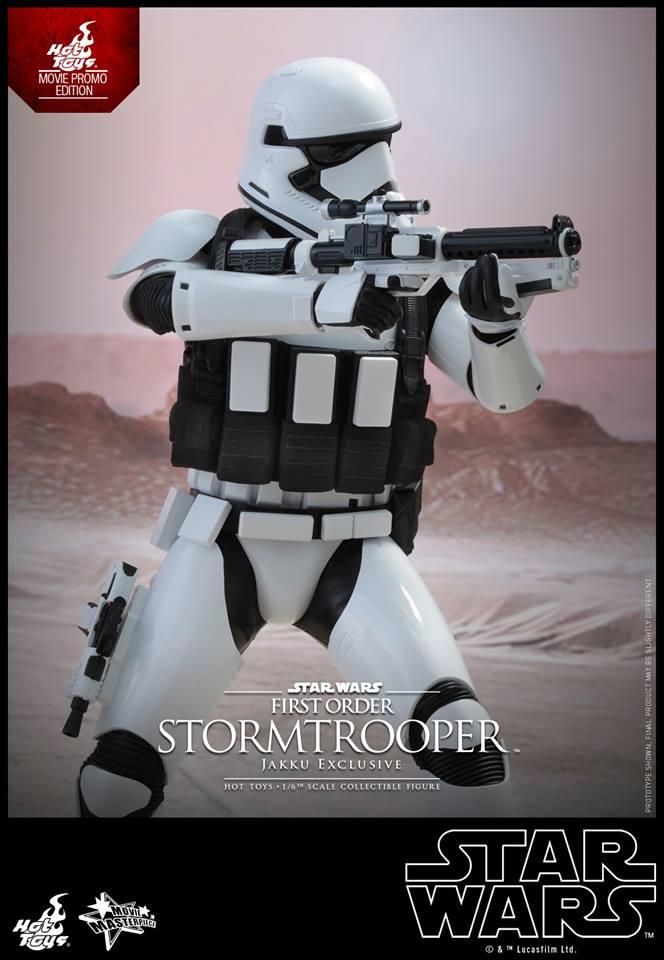 HOT TOYS - Star Wars: TFA - First Order Stormtrooper Jakku  424383103