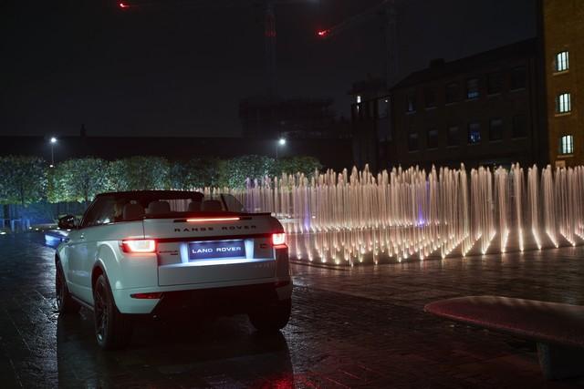 Range Rover Cabriolet, Un SUV Pour Toutes Les Saisons 426148RREVQConvertibleReveal04