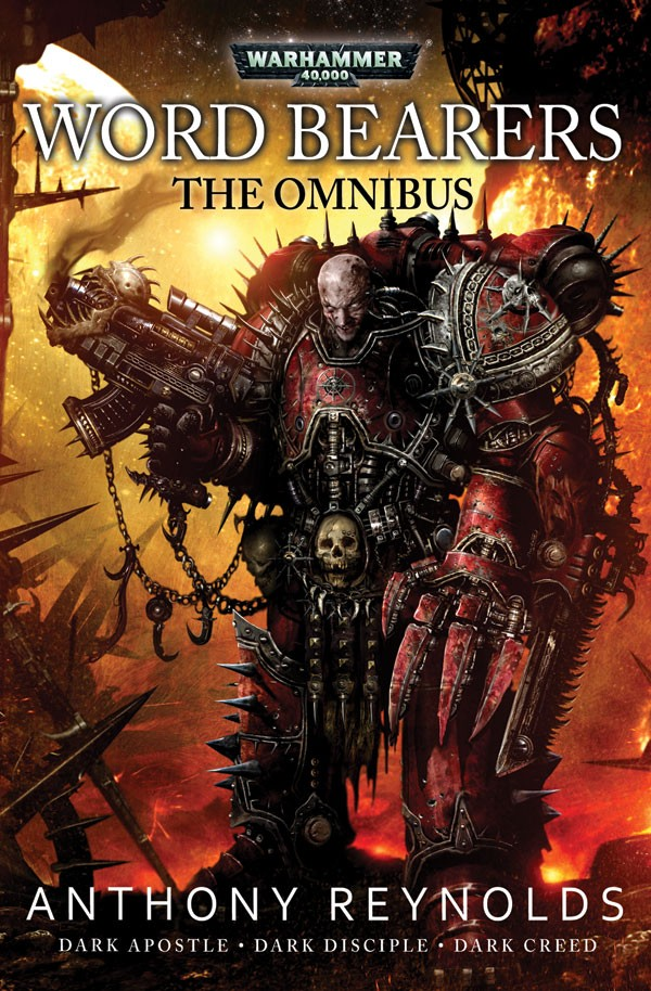 The Word Bearers omnibus d'Anthony Reynolds 426199WordBearers