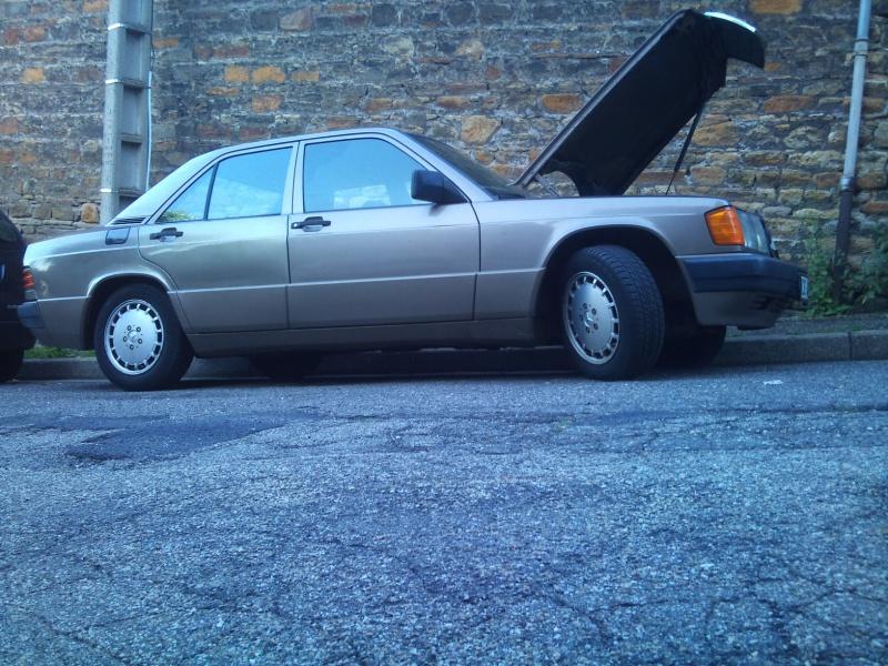Mercedes 190 1.8 BVA, mon nouveau dailly - Page 9 426629DSC2529