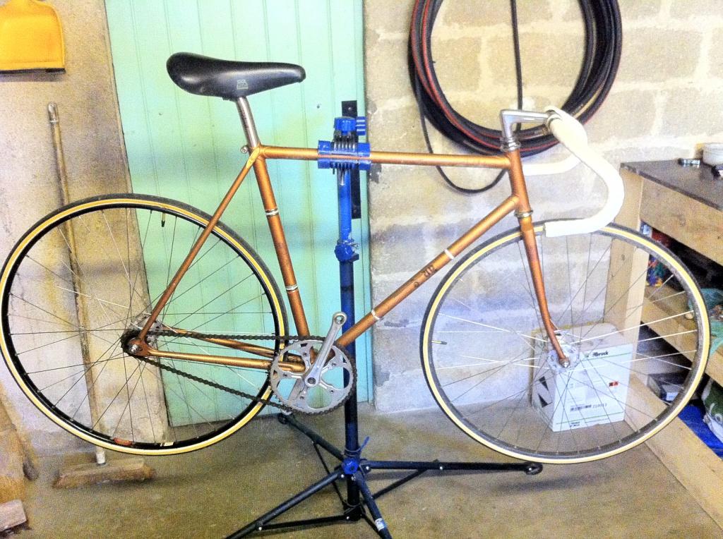 Vélo de piste Jean Marie Brun Tubes Columbus 427137IMG0395