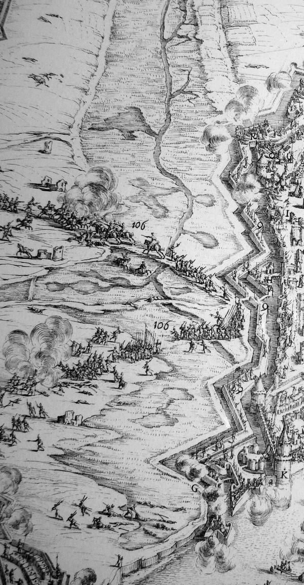 // La Rochelle 1628 // Le plan-relief // 427268CALLOTreduite