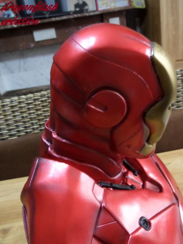 dragonflash création : buste iron man 1/2  (+-40 cm de haut) le final 4287816529