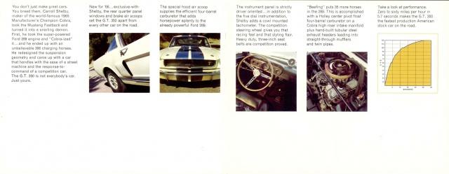 mustang shelby 350 GT 1965  kit monogram 1/24 . 429449pubmustang350gt3