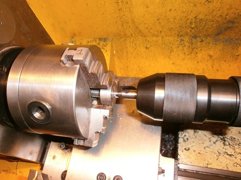 """Fabrication d'un """"bouchon"""" pour mon bac à copeaux pour récupérer le fuide de coupe 429466PB100033"""