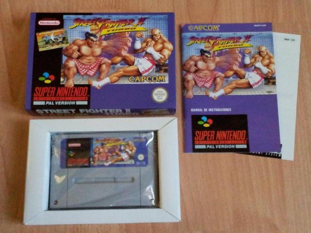 Prupru's Collection ! 100% Super Nintendo et 200% Super Comboy !! - Page 2 429643StreetFighterIITurboESP