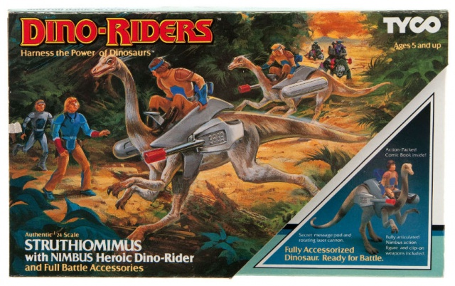 Les jouets DINO-RIDERS ( dinoriders ) - IDEAL 431619001big