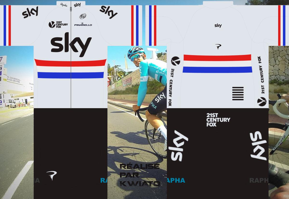 SKY Pro Cycling 432083skymaillotgbr